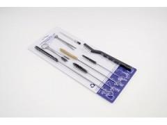 Kit de nettoyage pour pistolets (17 pièces)