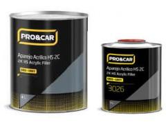 Kit apprêt 1L + Durcisseur 500ml gris clair